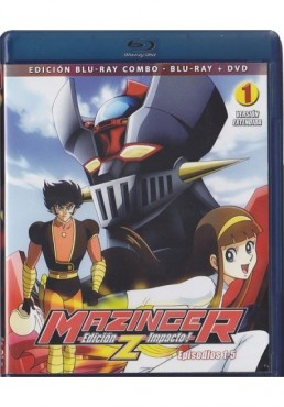 Mazinger Z - Vol. 1 (Blu-Ray + Dvd)