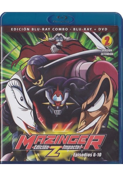 Mazinger Z - Vol. 2 (Blu-Ray + Dvd)