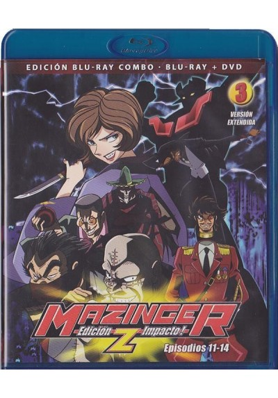 Mazinger Z - Vol. 3 (Blu-Ray + Dvd)
