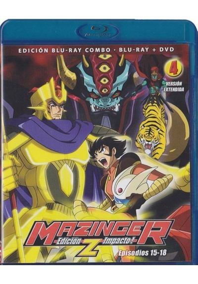Mazinger Z - Vol. 4 (Blu-Ray + Dvd)