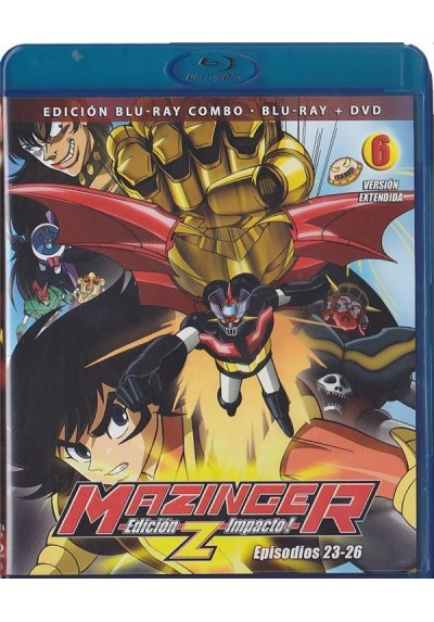 Mazinger Z - Vol. 6 (Blu-Ray + Dvd)