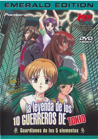 La Leyenda De Los 10 Guerreros De Tokio (Ed. Esmerald)