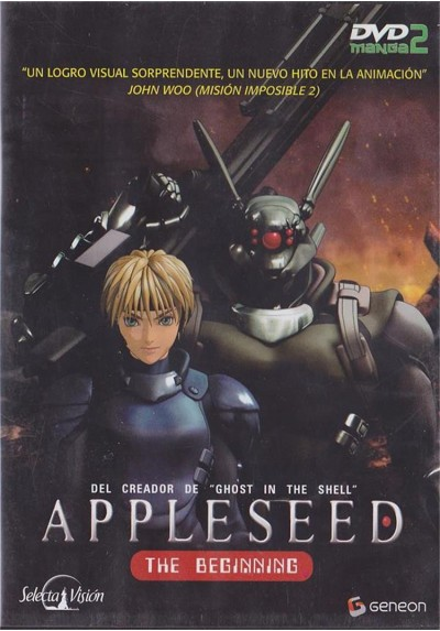 Appleseed, The Beginning