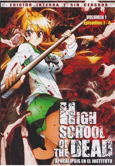 High School Of The Dead (Apocalipsis En El Instituto) - Vol. 1