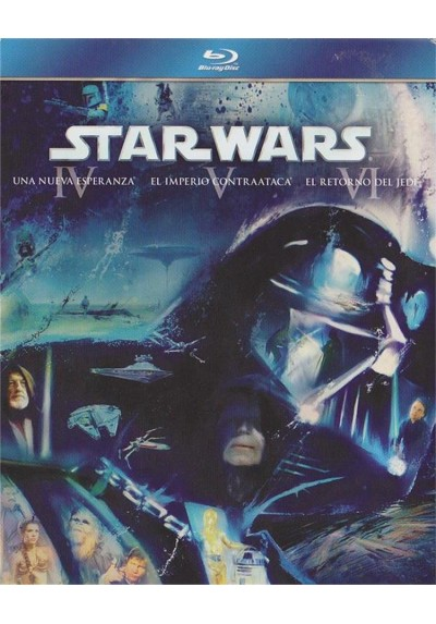 Star Wars - Episodios IV - V - VI (Blu-Ray)