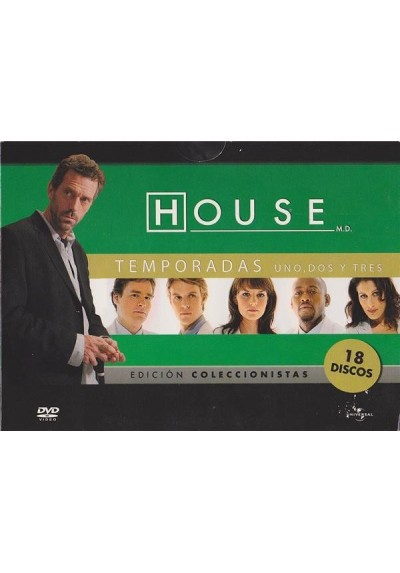 House - Temporadas 1 - 3 (Edicion Horizontal)