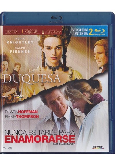 Sesion Doble Continua (Blu-Ray)