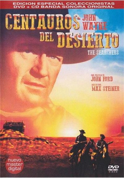 Centauros Del Desierto + CD (Edicion Coleccionista) (The Searchers)