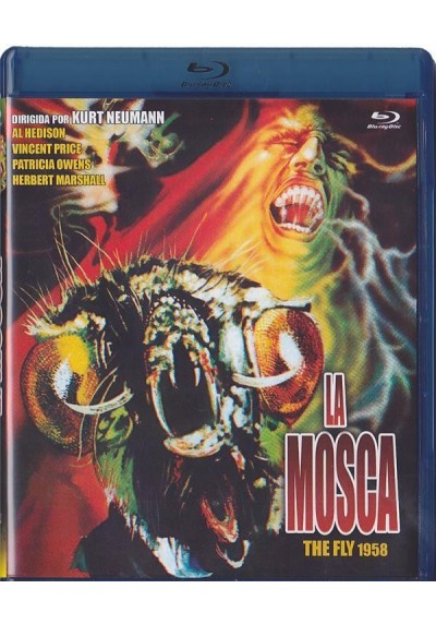La Mosca (1958) (Blu-Ray) (The Fly)