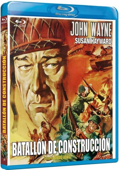 Batallon De Construccion (Blu-Ray) (The Fighting Seabees)