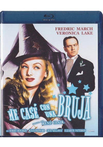 Me Case Con Una Bruja (Blu-Ray) (I Married A Witch)