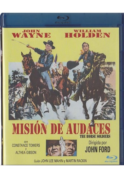 Mision De Audaces (Blu-Ray) (The Horse Soldiers)