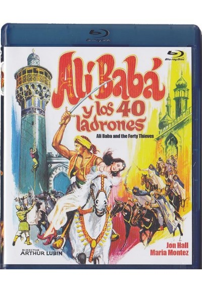 Ali Baba Y Los Cuarenta Ladrones (Blu-Ray) (BD-R) (Ali Baba And The Forty Thieves)
