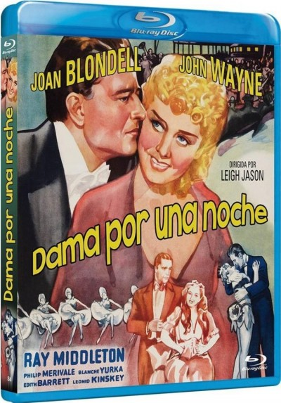 Dama Por Una Noche (Blu-Ray) (Lady For A Night)
