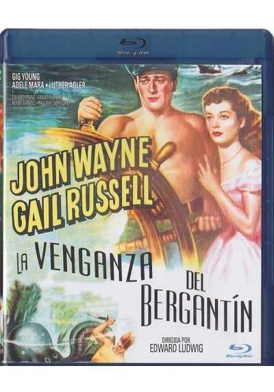 La Venganza Del Bergantin (Blu-Ray) (Wake Of The Red Witch)