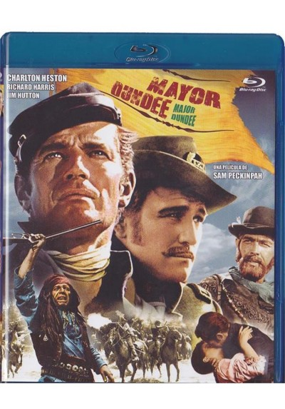 Mayor Dundee (Blu-Ray) (Major Dundee)