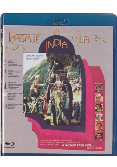 Pasaje A La India (Blu-Ray) (A Passage To India)