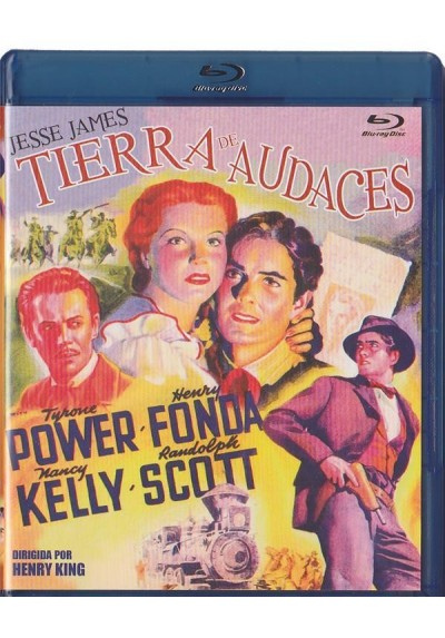 Tierra De Audaces (Blu-Ray) (Jesse James)