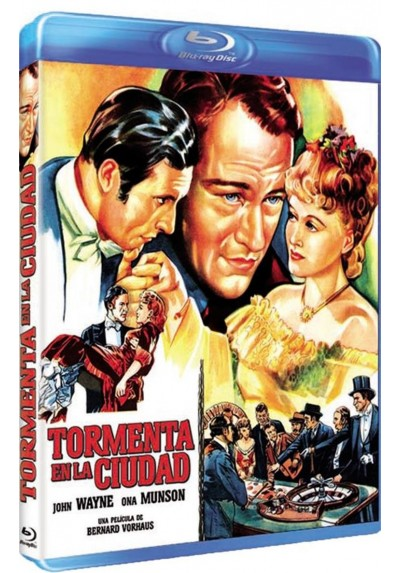 Tormenta En La Ciudad (Blu-Ray) (Lady From Louisiana)