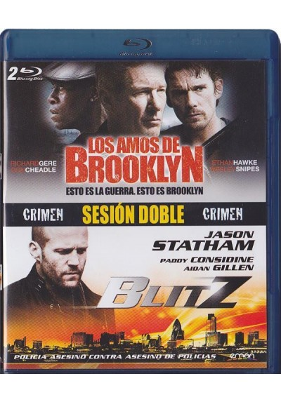 Sesion Doble Crimen (Blu-Ray)