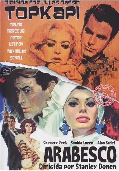 Cine de Comedia, Suspense  y Thriller - Topkapi y Arabesco