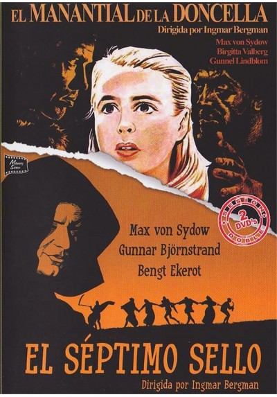 Cine Drama - Ingmar Bergman - El Manantial De La Doncella y El Septimo Sello