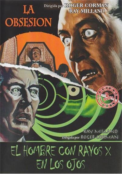 Cine Terror - Roger Corman - La Obsesion y El Hombre Con Rayos X En Los Ojos