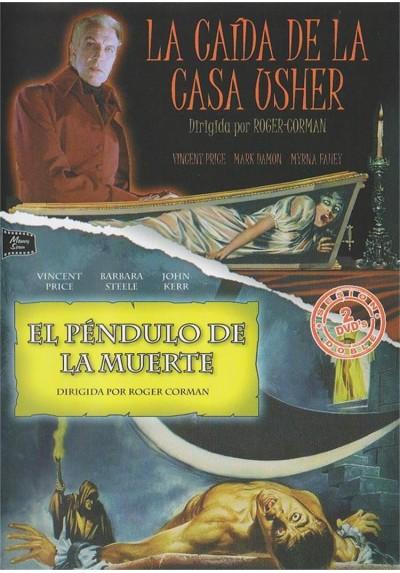 Cine Terror - Vincent Price - La Caida De La Casa Usher y El Pendulo De La Muerte