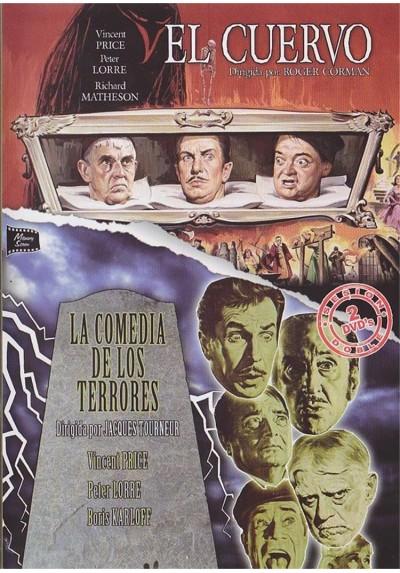 Cine Terror - El Cuervo (1963) y La Comedia De Los Terrores