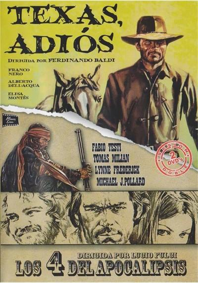 Cine Western - Texas, Adios y Los 4 Del Apocalipsis