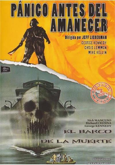 Cine Suspense - Terror - Panico Antes Del Amanecer y El Barco De La Muerte