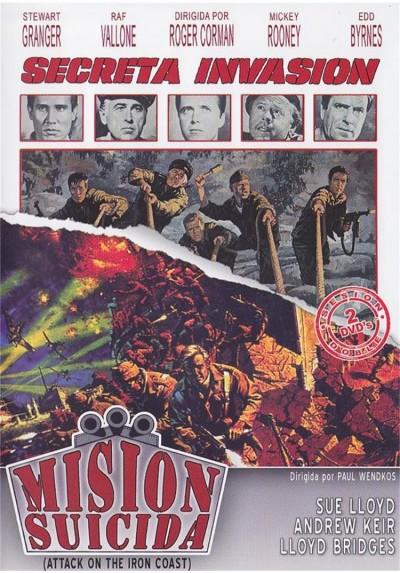 Cine Accion - Belico - Secreta Invasion y Mision Suicida