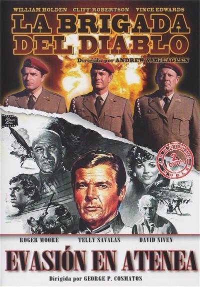 Cine Belico - La Brigada Del Diablo y Evasion En Atenea