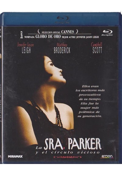 La Sra. Parker Y El Circulo Vicioso (Blu-Ray)(Mrs. Parker And The Vicious Circle)