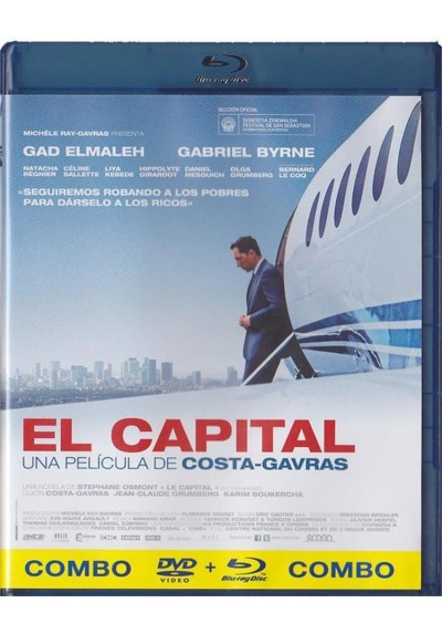 El Capital (Blu-Ray + Dvd)(Le Capital)