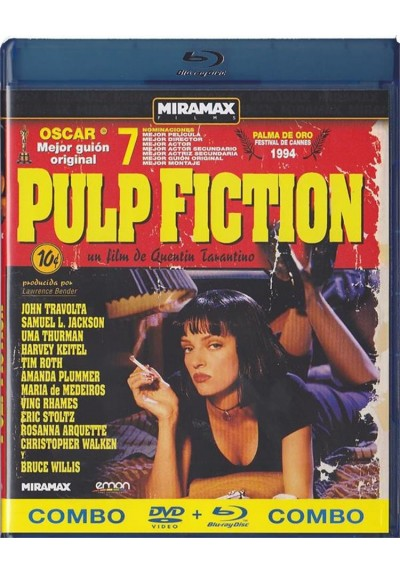 Pulp Fiction (Blu-Ray + Dvd)
