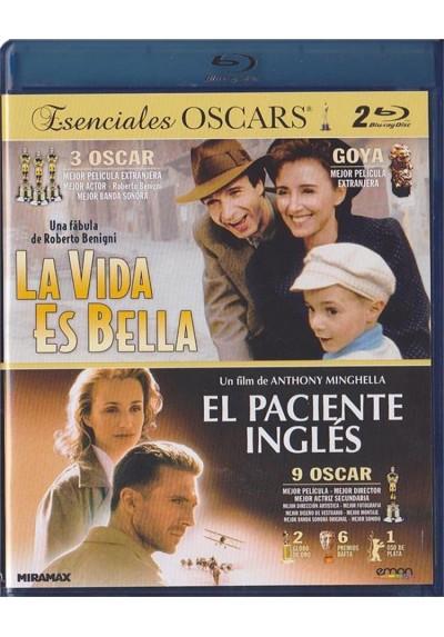 La Vida Es Bella / El Paciente Ingles (Blu-Ray)