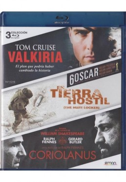 Valkiria / En Tierra Hostil / Coriolanus (Blu-Ray)