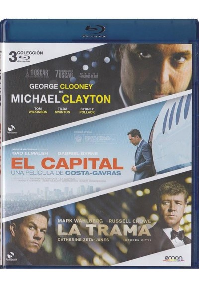 Michael Clayton / El Capital / La Trama (Blu-Ray)