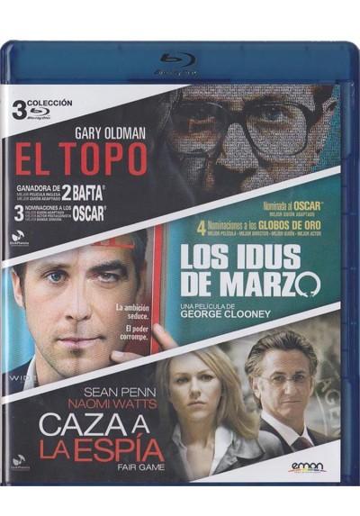 El Topo / Los Idus De Marzo / Caza A La Espia (Blu-Ray)