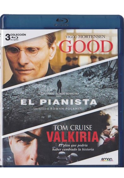 Good / El Pianista / Valkiria (Blu-Ray)