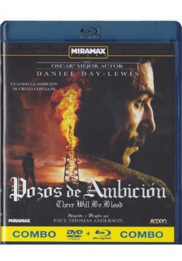 Pozos De Ambicion (There Will Be Blood) (Blu-Ray + Dvd)