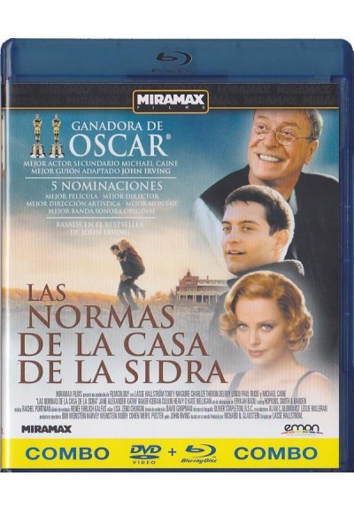 Las Normas De La Casa De La Sidra (Blu-Ray + Dvd) (The Cider House Rule)