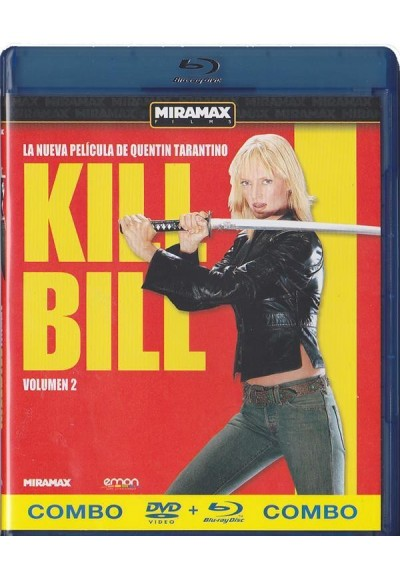 Kill Bill - Volumen 2 (Blu-Ray + Dvd)