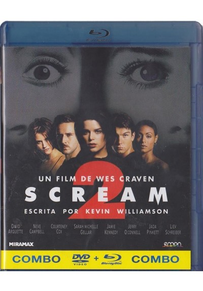 Scream 2 (Blu-Ray + Dvd)