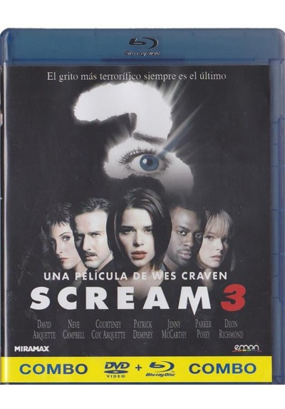 Scream 3 (Blu-Ray + Dvd)