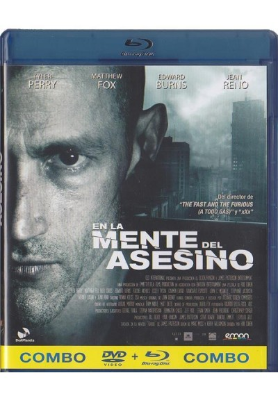 En La Mente Del Asesino (Blu-Ray + Dvd) (Alex Cross)