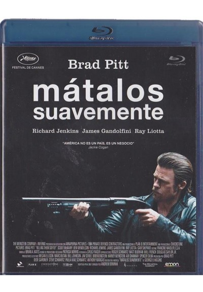 Matalos Suavemente (Blu-Ray)(Killing Them Softly)