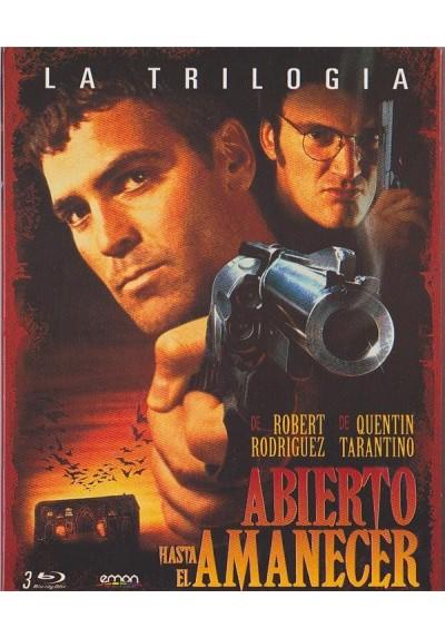 Abierto Hasta El Amanecer - La Trilogia + Poster (Blu-Ray)