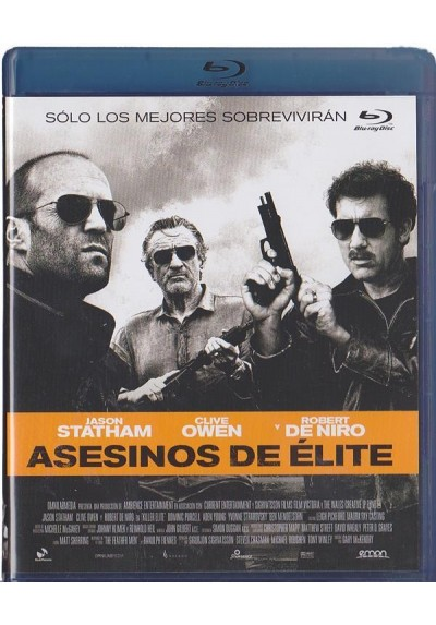 Asesinos De Elite (Blu-Ray)(Killer Elie)